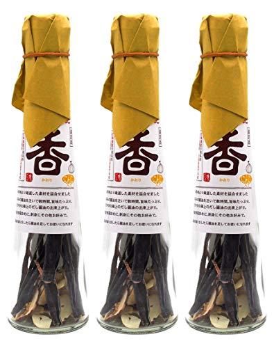 とべや 天然だし醤油のもと 「香」(かおり・青森県産にんにくミックス)×3本まとめ買いセット[dK3]