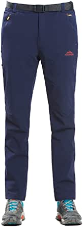 LWITHC メンズ 登山パンツ アウトドア ロングパンツ 速乾 トレッキング パンツ 撥水加工 ストレッチ 作業 多機能 ズボン 薄手 吸汗速乾 ストレッチ UVカット アウトドアウェア 登山 通気 春秋夏用 (M-5XL)004