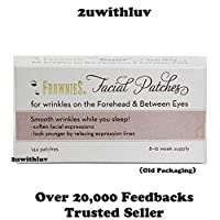 フローニーズ144 額と眼の間のしわのための顔面パッチ - 新包装