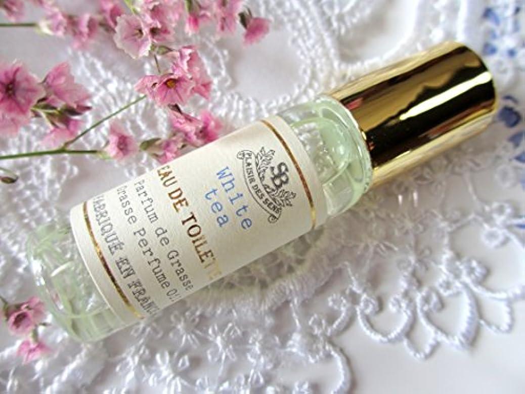 邪魔するアスレチックリクルートSenteur et Beaute(サンタールエボーテ) フレンチクラシックシリーズ プティトワレ ホワイトティー  ロールオン