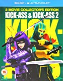 Kick-Ass & Kick-Ass 2 [Blu-ray] [Import]