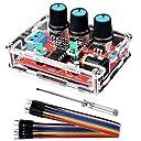 Kuman 信号発生器 XR2206 セット ファンクション信号発生器 高精度 正弦/三角/正方形 信号発生器 手作ドライバー 10ピン 出力1Hz〜1MHz 周波数振幅調整可能 K76