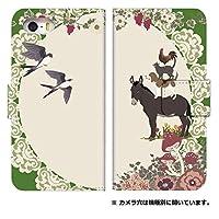 スマホケース 手帳型 l-01f ケース 5090-D. animalsカーキ lー01f スマホケース 手帳 [G2 L-01F] ジー ツー