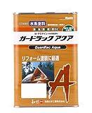 和信ペイント ガードラックアクア プロ仕様の水性屋外木部用塗料 1回塗・高着色・塗替最適 チョコレート 3.5kg