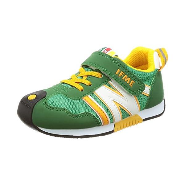 [イフミー] 運動靴 30-7705 グリーン ...の商品画像