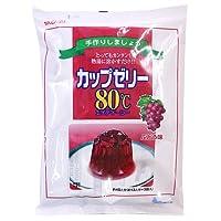 かんてんぱぱ ぶどうゼリー 200g×3袋