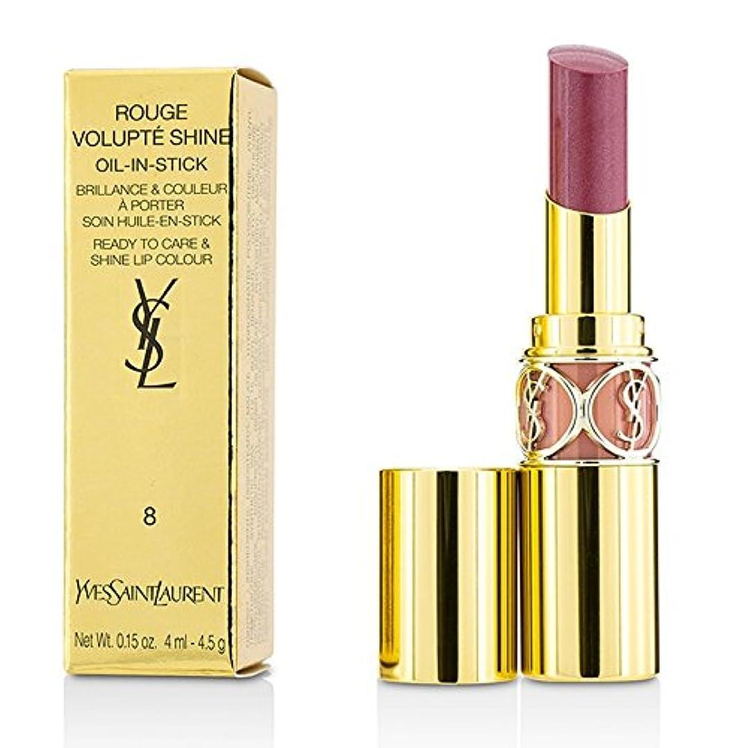 スロー航空なだめるイヴサンローラン ルージュ ヴォリュプテ シャイン - # 8 Pink In Confidence/Pink Blouson 4.5g/0.15oz並行輸入品