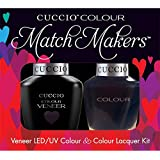 Cuccio MatchMakers Veneer & Lacquer - Wild Knights - 0.43oz / 13ml Each