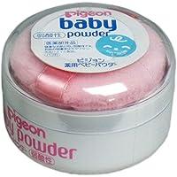 ピジョン 薬用ベビーパウダーM 弱酸性 ピンクパフ付き 肌の弱い赤ちゃんに!
