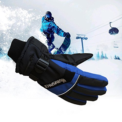 Bulary ヒーターグローブ 充電式 4h持続使用 スキー...