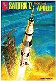 AMT 1/200 アポロ11号 月面着陸50周年記念 サターンV型ロケット プラモデル AMT1174
