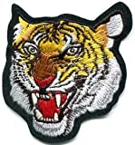プーマ ジャケット Tiger Cat Puma Jaguar Lion Cheetah Animal Wildlife Appliques Hat Cap Polo Backpack Clothing Jacket Shirt DIY Embroidered Iron On / Sew On Patch #5 by BKKPatch