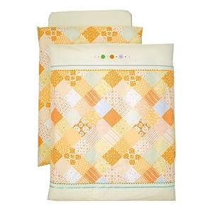 西川産業 babypuff ハッピーコーディネートシリーズ 洗えるカバーリング組ふとん クリーム LRE3001230-C LC9510