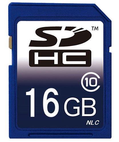 【東芝製チップ】採用オリジナルブランド SDメモリーカード SDHCメモリーカード 16GB Class10 クラス10【SDカード・SDHCカード・メモリーカード・フラッシュメモリー】HFM31/ HFM32/HFM41/ HFM43/ HFG10/HC-V700M/HC-V600M/HC-V300M/HC-V100M/VBK360-K