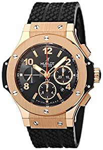 [ウブロ]HUBLOT 腕時計 ビックバン ブラック文字盤 自動巻 クロノグラフ 301.PX.130.RX メンズ 【並行輸入品】