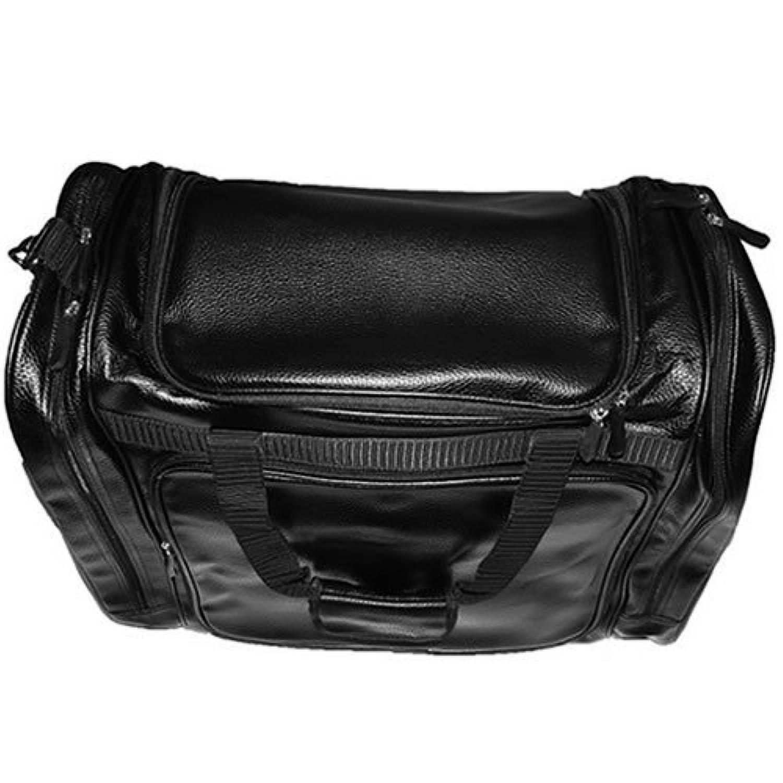 松勘 PVCワイドバック(黒) 高級防具袋