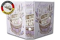 バインダー 2 Ring Binder Lever Arch Folder A4 printed Lavender cosmetics