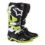 Alpinestars アルパインスターズ  2014年 Tech 10 テック10 オフロード ブーツ 黒緑/US10 (約29cm)