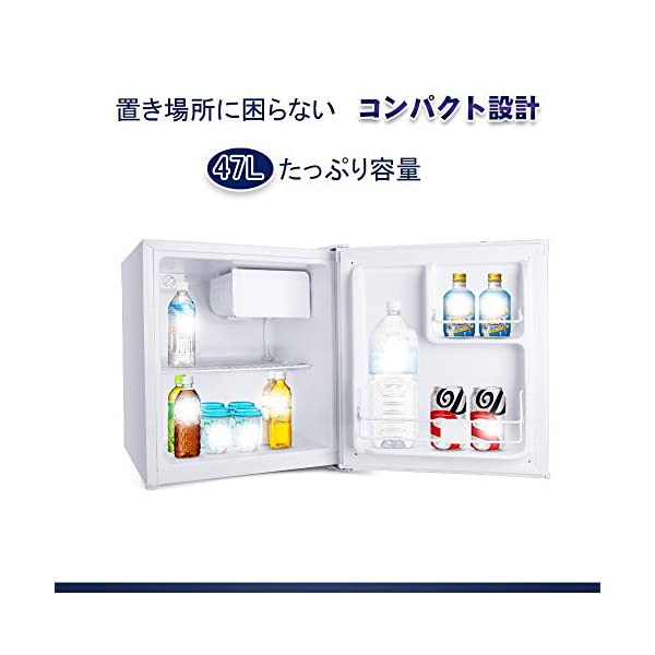 BESTEK 冷蔵庫 小型 ミニ 直冷式 1ド...の紹介画像2