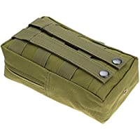 "Tactical Pouches,Water-Resistant Multi-Purpose Molle Tactical Utility Gadget Gear Hanging Waist Bags Medical Aid Pouch 8 * 4.75 * 2"" Military Nylon Outdoor Army Waist Bag Pouch Case"