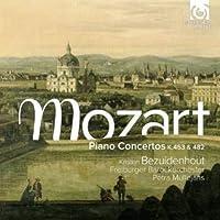 モーツァルト: ピアノ協奏曲第17番ト長調K453、第22番変ホ長調K482 他 (Mozart : Piano Concertos K453 & K482 / Kristian Bezuidenhout, Freiburger Barockorchester) [輸入盤]