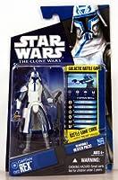 Hasbro スター・ウォーズ クローン・ウォーズ ベーシックフィギュア キャプテン・レックス コールドウエザーギア/Star Wars 2010 The Clone Wars Action Figure CW12 Captain Rex【並行輸入】
