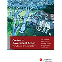 Control of Government Action: Text Cases and Commentary, 5th edition