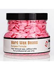 Rabugoo 250g美容脱毛ハードワックス豆フェイス脇の下のアーム脚のための安全な恒久的な脱毛剤 rose