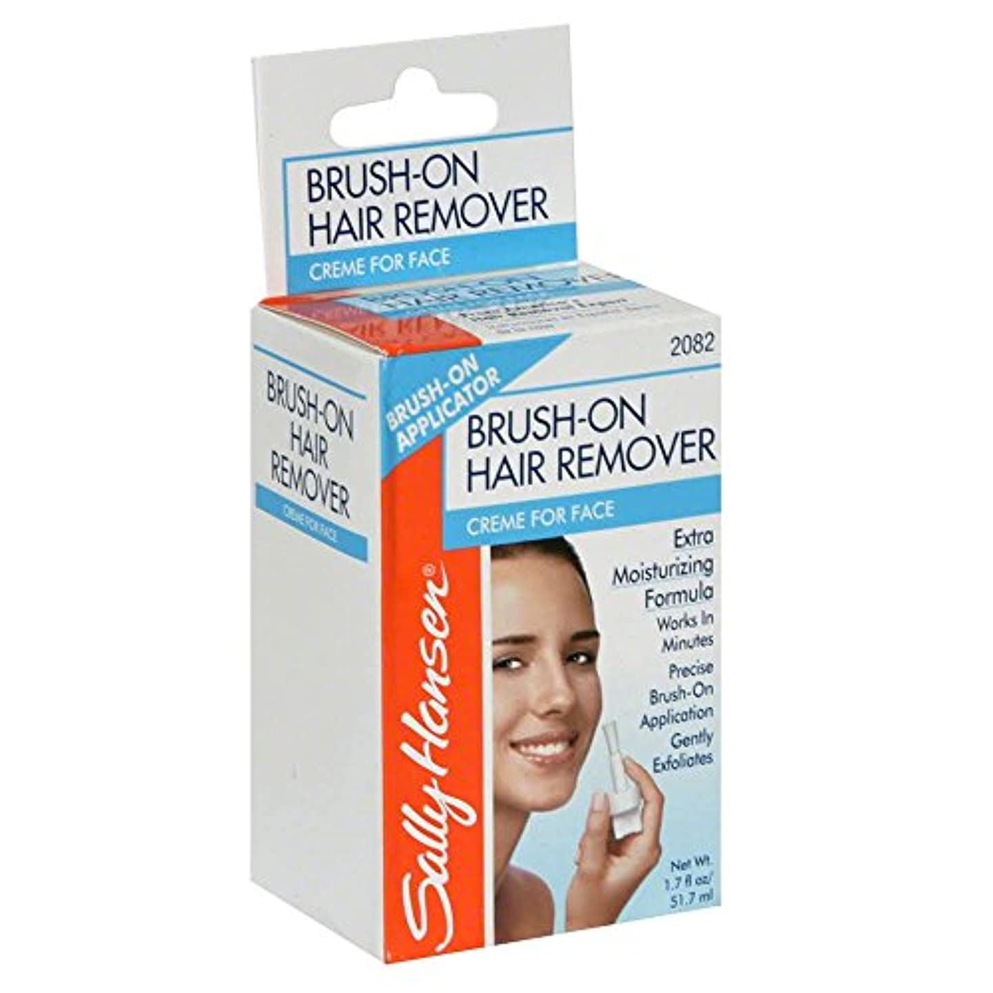 飽和するセグメント適応ブラシ式顔用除毛剤 (並行輸入品)