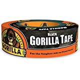 "CPI MANUFACTURING 6035240 Gorilla 6035180  Tape, Black Duct Tape, 1.88"" x 35 yd, Black"