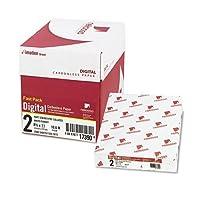 Nekoosa Fastパックデジタルカーボンレス用紙、8–1/ 2x 11、ホワイト/カナリア、2500/カートン