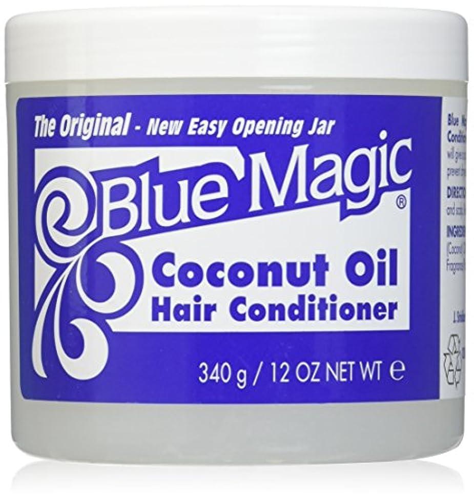 天の乳製品耐久Blue Magic ココナッツオイルヘアーコンディショナー12オンス(3パック)