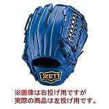 ZETT(ゼット) 軟式グラブ デュアルキャッチシリーズ オールラウンド用 ブルー RH(左投げ用) BRGB34520