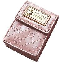 [ハローキティ]HELLO KITTY 財布 合皮エナメル調モノグラム柄リップケース/シガレットケース HK26-5 レディース ピンク