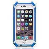 HAMSWAN iPhone6/6s用 防水保護ケース IP68テスト承認 防水 防塵 耐衝撃 カバー 指紋認識 4.7インチ アイフォン6/6sに適用する 3色の選択 ブルー