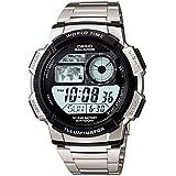 カシオ CASIO ワールドタイム デジタル 腕時計 AE1000WD-1A[並行輸入]