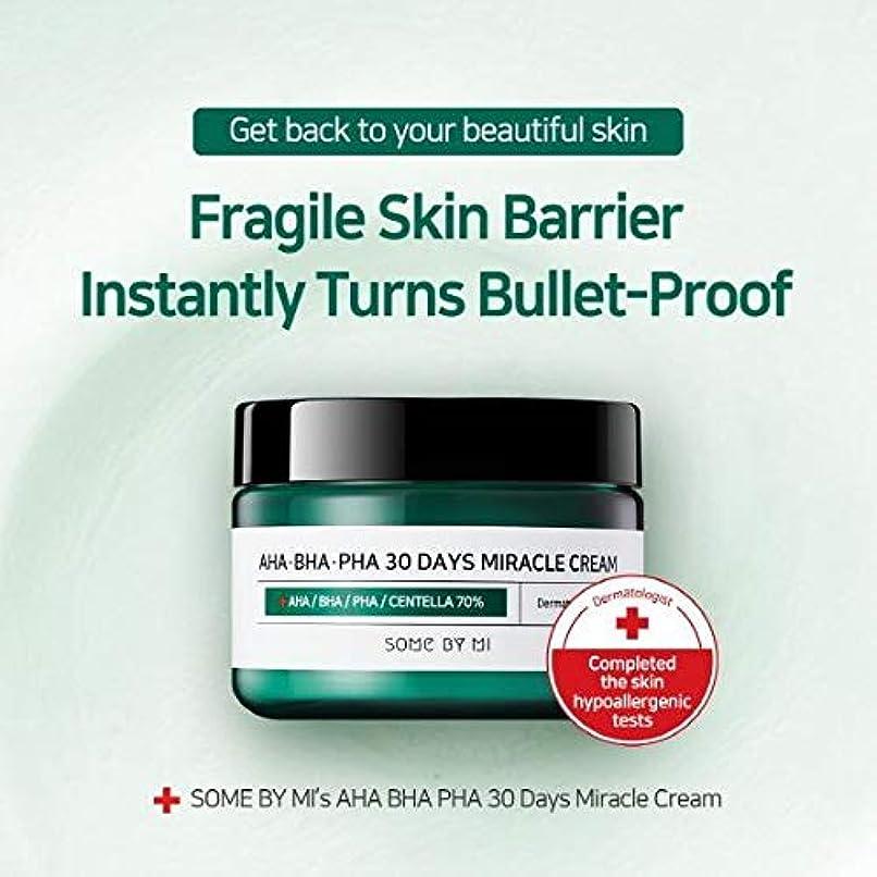 巨大なバブル悪のSomebymi AHA BHA PHA Miracle Cream 50ml (1.7oz) Skin Barrier & Recovery, Soothing with Tea Tree 10,000ppm for...