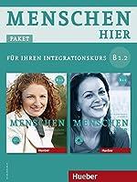 """Menschen hier B1/2. Paket: Kursbuch mit DVD-ROM und Arbeitsbuch mit Audio-CD: Deutsch als Zweitsprache / Paket: Kursbuch """"Menschen"""" mit DVD-ROM und Arbeitsbuch """"Menschen hier"""" mit Audio-CD"""