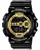 CASIO カシオ G-SHOCK Gショック ジーショック GD-100GB-1 海外モデル Black×Gold Series ブラック×ゴールドシリーズ 腕時計 メンズ 腕時計 男性用 時計 ウォッチ 【逆輸入品】