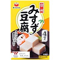 信州みすず豆腐 4個入り(66g) (10パック)