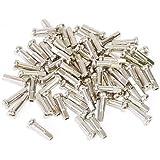 星スポーク #14真鍮ロングニップル 426-60001