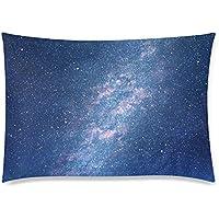可愛い 子供 宇宙 星空 星雲 座布団 50cm×72cm