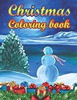 Christmas Coloring Book: a beautiful colouring book with Christmas designs on a black background, for gloriously vivid colours (Merry Christmas (Christmas designs on a black background)