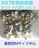 2017年産 青森県産 にんにく 業務用 5kg ホワイト六片  Mサイズ中心