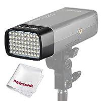 Godox AD - L LEDライトヘッド LED電球60個 AD200ポータブル屋外ポケットフラッシュアクセサリー専用 Pergearレンズクリーニング布付属