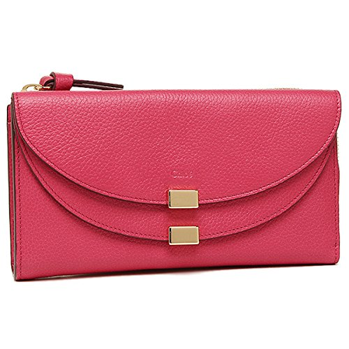 Chloe(クロエ)クロエ 財布 CHLOE 3P0283 043 BHZ GEORGIA LONG ZIPPED WALLET 長財布 DREAMY PINK [並行輸入品]