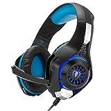 Beexcellent ゲーミング ヘッドセットPS4 ヘッドホン ゲーム用スマホ等に対応 騒音抑制