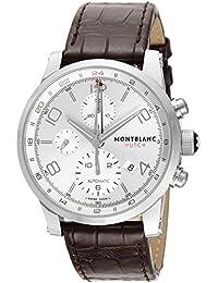 [モンブラン]MONTBLANC 腕時計 TIME WALKER UTC シルバー文字盤 自動巻き 107065 メンズ 【並行輸入品】