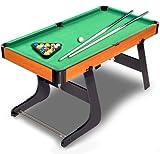 6畳の部屋でも本格勝負を楽しめる 折り畳み可能 ビリヤード セット ビリヤード生活 玉突き AL-TAMATUKI