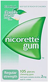 Nicorette Gum Fresh mint 2mg 105